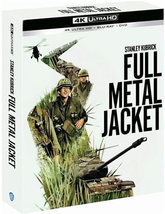 Full Metal Jacket (1987) (Limited Collector's Edition, 4K Ultra HD + Blu-ray + DVD)