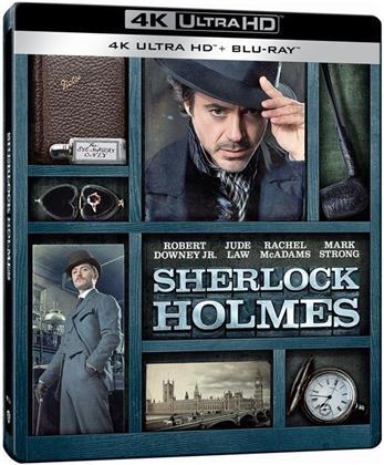 Sherlock Holmes (2010) (Édition Limitée, Steelbook, 4K Ultra HD + Blu-ray)