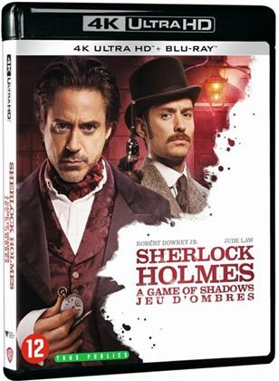 Sherlock Holmes 2 - Jeu d'ombres (2011) (4K Ultra HD + Blu-ray)