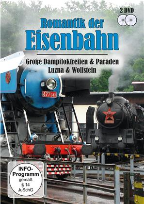 Romantik der Eisenbahn - Grosse Dampfloktreffen & Paraden Luzna & Wollstein (2 DVDs)