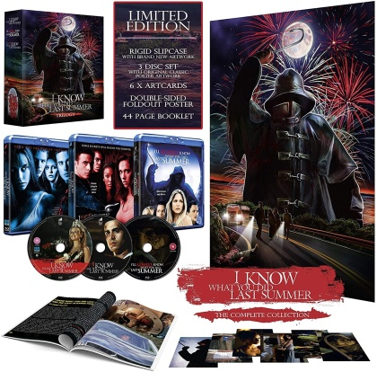 I Know What You Did Last Summer Trilogy - The Complete Collection (Limited Edition, 3 Blu-rays)