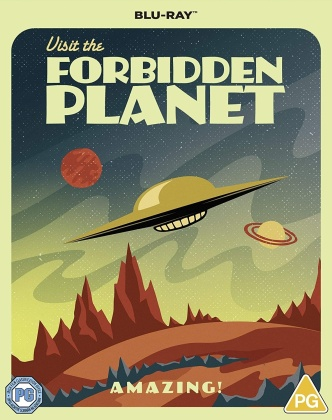 Forbidden Planet (1956) (Special Poster Edition)