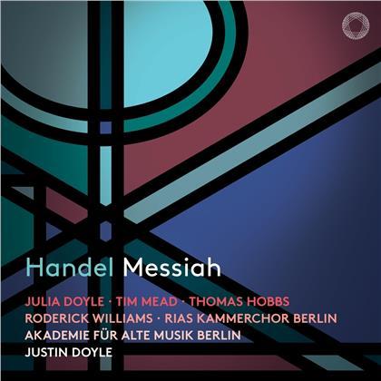Akademie für Alte Musik Berlin, Georg Friedrich Händel (1685-1759), Justin Doyle & Streich Rita /Rias Kammerchor/Sfo Berlin - Messiah (2 CDs)