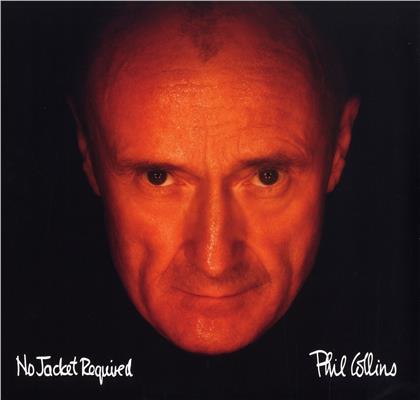 Phil Collins - No Jacket Required (2020 Reissue, Rhino, Orange Vinyl, LP)