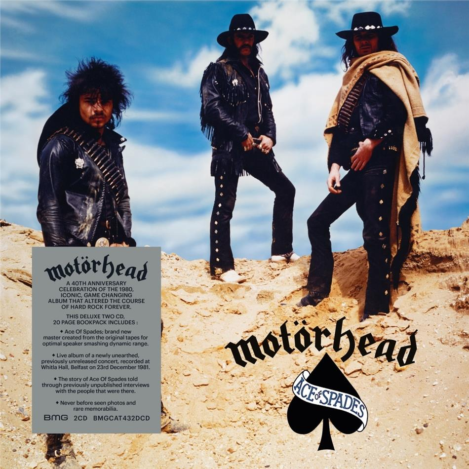 Motörhead - Ace Of Spades (2020 Reissue, 2 CDs)
