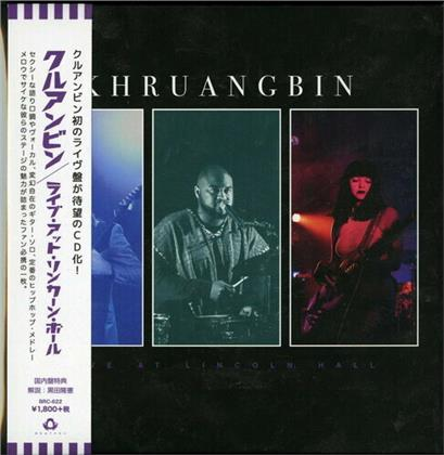 Khruangbin - Live At Lincoln Hall (Japan Edition)