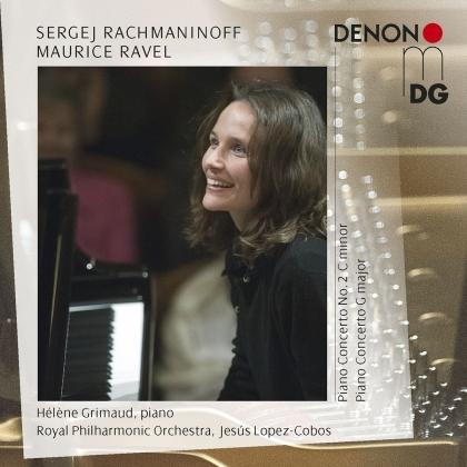 Sergej Rachmaninoff (1873-1943), Maurice Ravel (1875-1937), Jesus Lopez-Cobos & Hélène Grimaud - Piano Concerto 2, Piano Concerto G major (2 CDs)