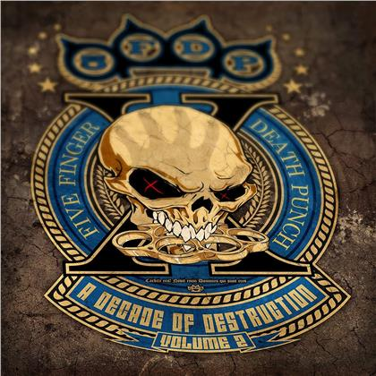 Five Finger Death Punch - A Decade Of Destruction - Volume 2 (Colored, 2 LPs)