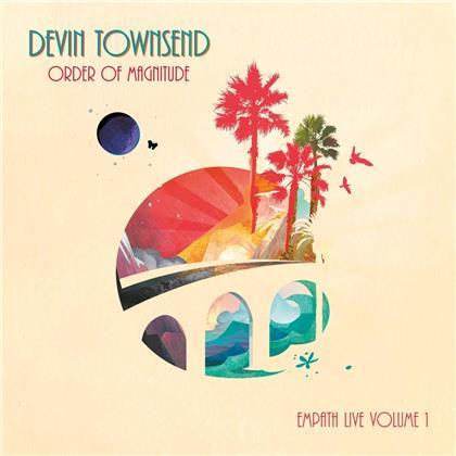Devin Townsend - Order Of Magnitude - Empath Live Volume 1 (2 CDs + DVD)