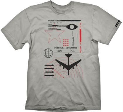 Call of Duty Cold War: Radar - T-Shirt Light Grey