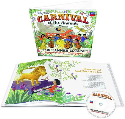 The Kanneh-Masons, Michael Morpurgo & Olivia Colman - Carnival Of The Animals (Deluxe Edition)
