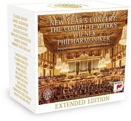 Wiener Philharmoniker - New Year's Concert - The Complete (26 CDs)