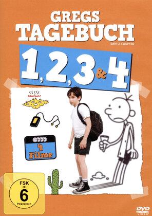 Gregs Tagebuch 1-4 (4 DVDs)