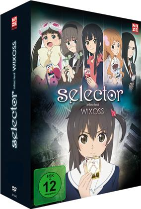 Selector Infected Wixoss - Staffel 1 (Gesamtausgabe, 4 DVDs)