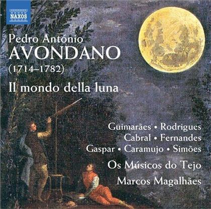 Os Musicos Do Tejo, Pedro Antonio Avondano (1714-1872) & Marcos Magalhaes - Il Mondo Della Luna