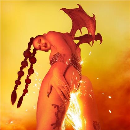 Eartheater - Phoenix: Flames Are Dew Upon My Skin (Red Vinyl, LP)
