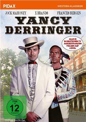 Yancy Derringer - Alle deutschen Folgen (Pidax Western-Klassiker, 4 DVDs)
