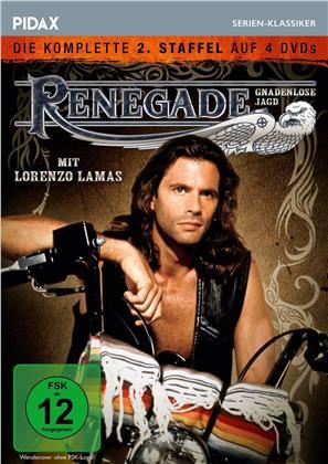 Renegade - Gnadenlose Jagd - Staffel 2 (Pidax Serien-Klassiker, 4 DVDs)