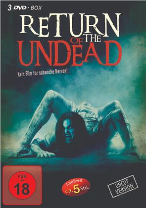 Return of the Undead - Fatal Move / Vampire Night / The 9th Unit (Limited Edition, Uncut, 3 DVDs)