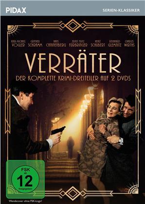 Verräter - Der komplette Krimi-Dreiteiler (1967) (Pidax Serien-Klassiker, 2 DVDs)
