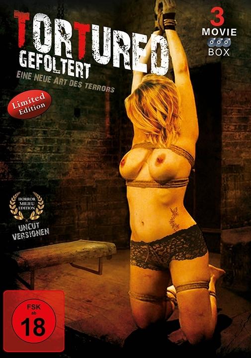 Tortured - Gefoltert - Eine neue Art des Terrors (Limited Edition, Uncut, 3 DVDs)