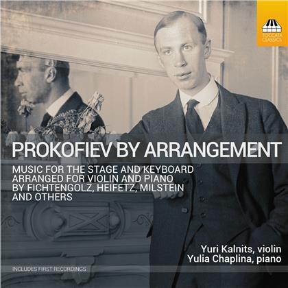 Serge Prokofieff (1891-1953), Yuri Kalnits & Yulia Chaplina - Prokofiev By Arrangement