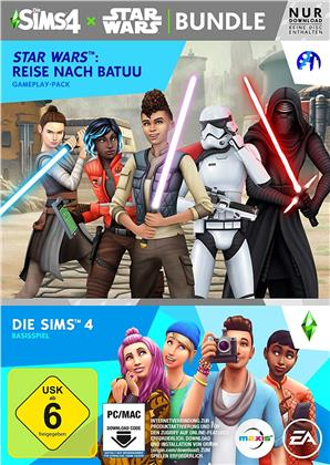 Die Sims 4 + Star Wars Reise nach Batuu Bundle - (Code in a Box) (German Edition)