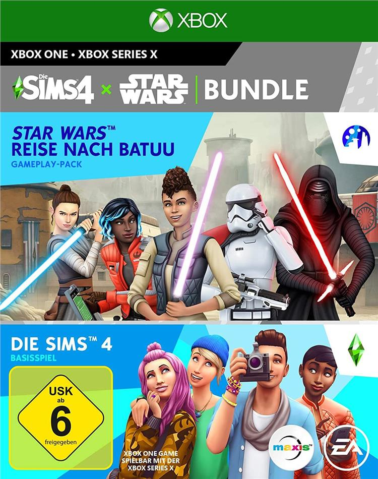 Die Sims 4 + Star Wars Reise nach Batuu Bundle (German Edition)