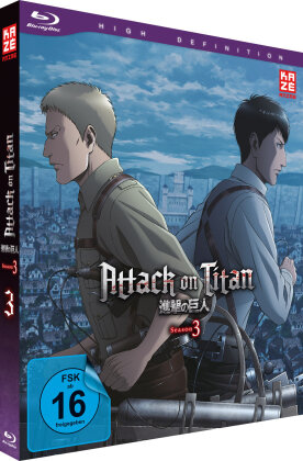 Attack on Titan - Staffel 3 - Vol. 3