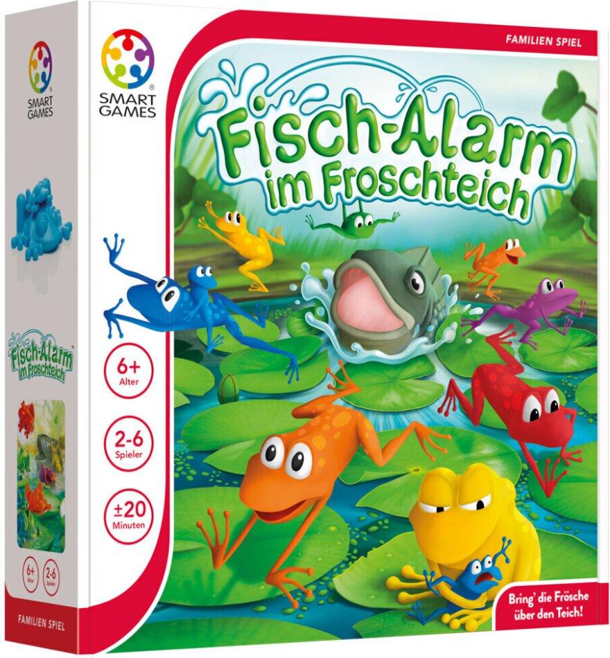Fischalarm im Froschteich
