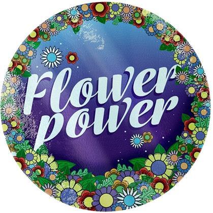Flower Power - Glass Chopping Board