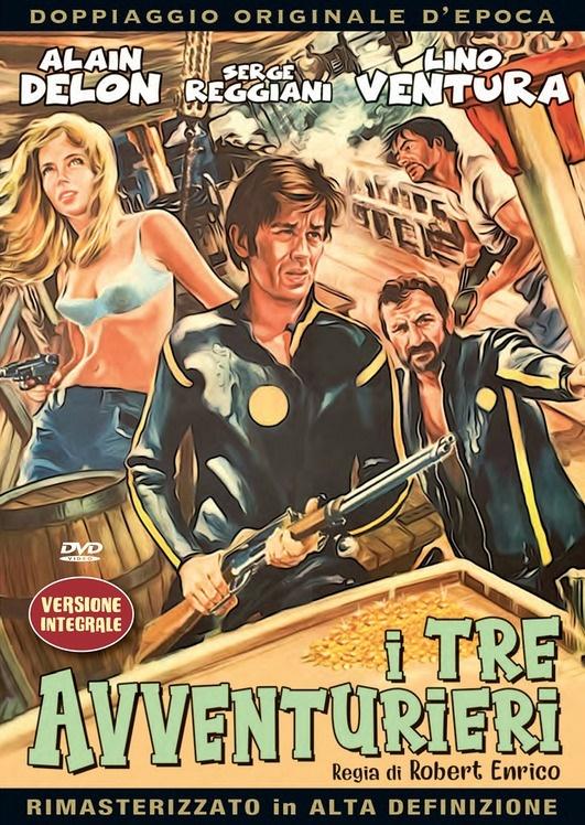 I tre avventurieri (1967) (Versione Integrale, Doppiaggio Originale D'epoca, HD-Remastered)