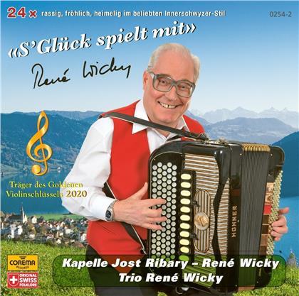 Kapelle Jost Ribary & Trio René Wicky - S'Glück spielt mit