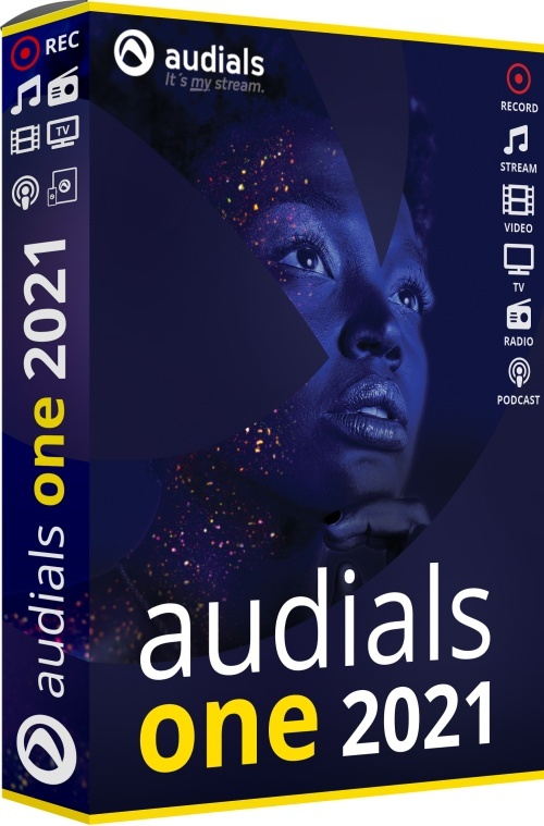 Audials One 2021 (Code in a Box)