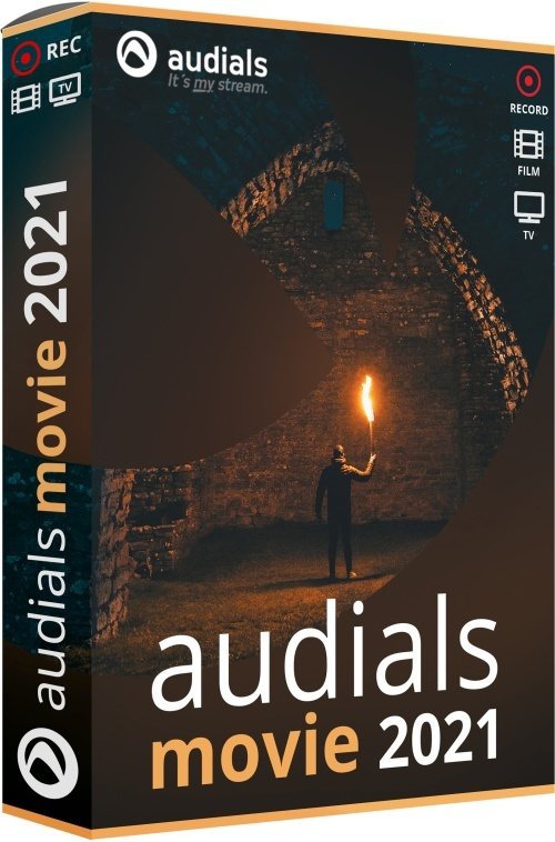 Audials Movie 2021 (Code in a Box)