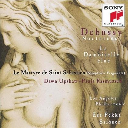 Claude Debussy (1862-1918), Esa-Pekka Salonen (*1958), Dawn Upshaw, Paula Rasmussen & Los Angeles Philharmonic - Nocturnes / La Damoiselle Elue