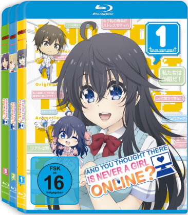 And you thought there is never a girl online? (Gesamtausgabe, 3 Blu-rays)