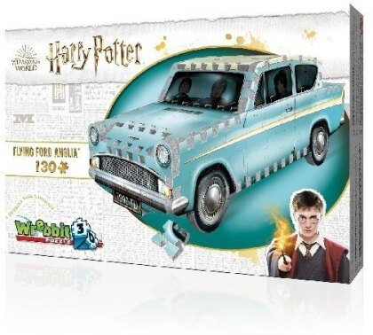 Harry Potter: Flying Ford Anglia - 130 Teile 3D Puzzle