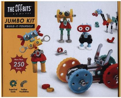 The Offbits Jumbo Kit - suitcase pack more than 250 parts