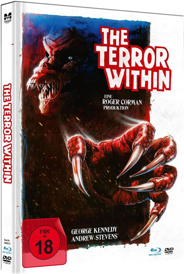 The Terror Within (1989) (Limited Edition, Mediabook, Blu-ray + DVD)