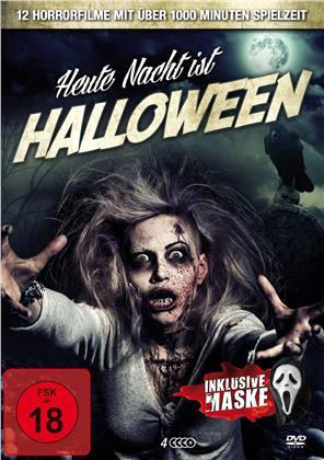 Heute Nacht ist Halloween - 12 Horrorfilme inklusive Maske (4 DVDs)