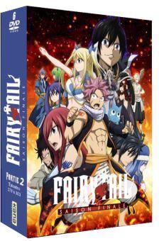 Fairy Tail - Saison finale - Partie 2 (6 DVDs)