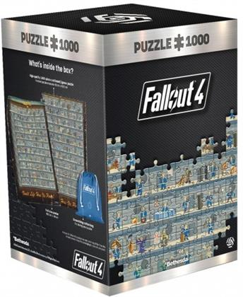 Fallout 4: Perk Poster - 1000 Teile Puzzle