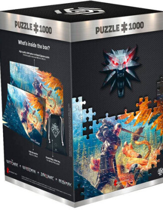 Witcher: Griffin Fight - 1000 Teile Puzzle