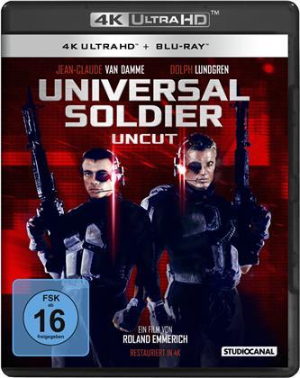 Universal Soldier (1992) (Uncut, 4K Ultra HD + Blu-ray)