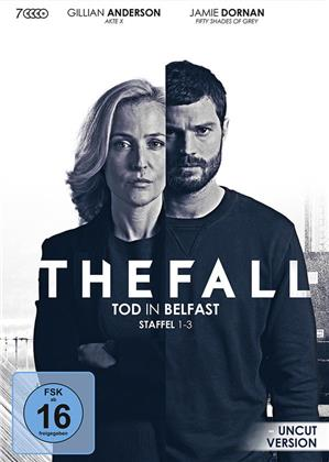 The Fall - Tod in Belfast - Staffel 1-3 (Uncut, 7 DVDs)