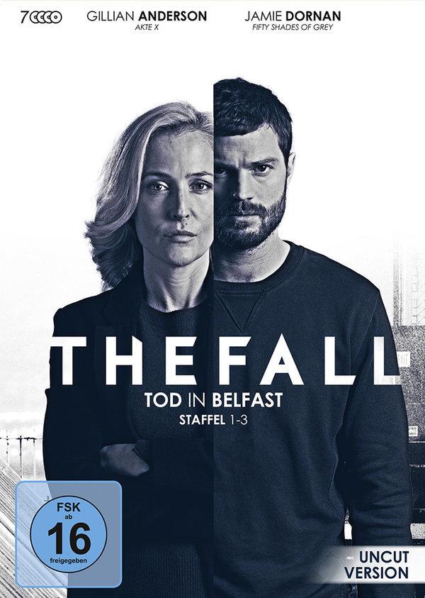 The Fall - Tod in Belfast - Staffel 1-3 (Uncut, 7 DVDs)