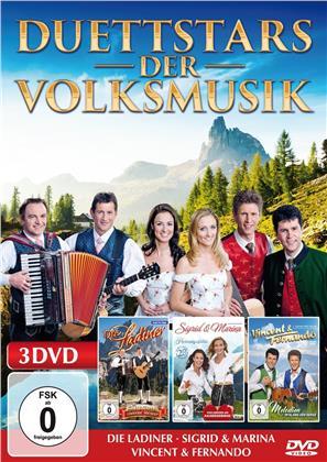 Various Artist - Duettstars der Volksmusik (3 DVDs)