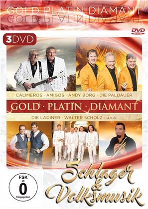 Schlager & Volksmusik - Gold. Platin. Diamant (3 DVDs)