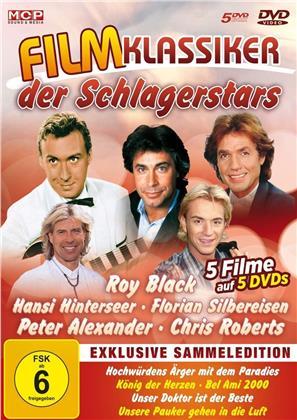 Filmklassiker der Schlagerstars - Hochwürdens Ärger mit dem Paradies / König der Herzen / Bel Ami 2000 / Unser Doktor ist der Beste / Unsere Pauker gehen in die Luft (5 DVDs)
